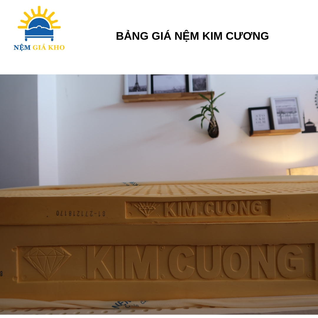 Nệm cao su Kim Cương Happy Gold
