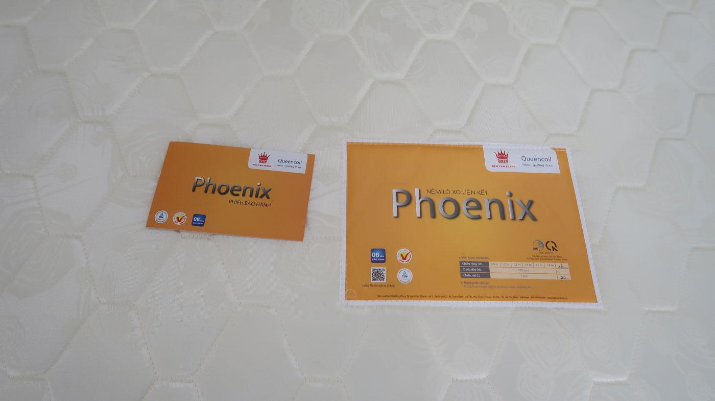 Đánh giá chất lượng nệm lò xo Phoenix Vạn Thành